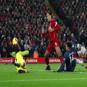 Alisson has made as many errors leading to goals in the Premier League this season as Simon Mignolet and Loris Karius combined in 2017-18 (2).