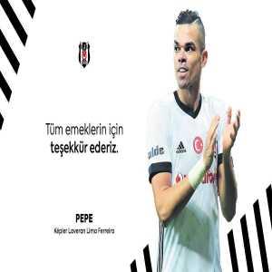 Pepe officially leaves Besiktas