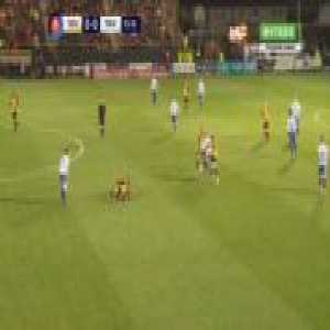 Southport 0-1 Tranmere - Connor Jennings volley 14'