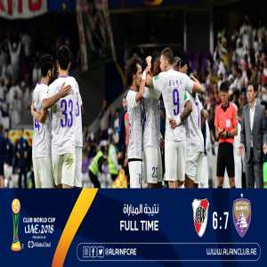 Al Ain becomes the first club from the Arabian peninsula to reach the Club World Cup/Intercontinental Cup final, and the 2nd ever Asian side.