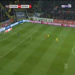 Dusseldorf 1-0 Dortmund - Dodi Lukebakio 22'