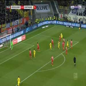 Dusseldorf 2-[1] Dortmund - Paco Alcacer 81'