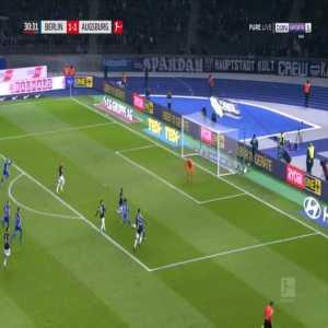 Hertha [2]-1 Augsburg - Ondrej Duda 31'