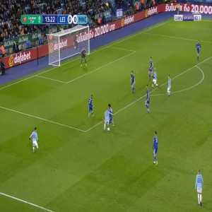 Leicester 0-1 Manchester City - Kevin De Bruyne 14'