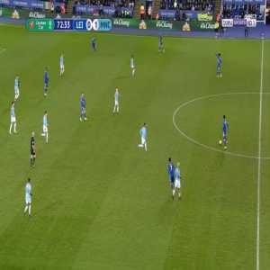 Leicester [1]-1 Manchester City - Marc Albrighton 73'