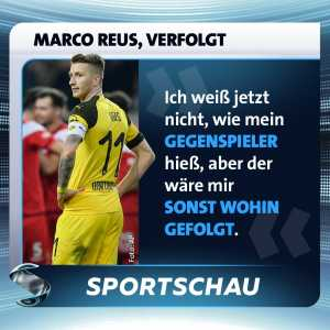 """Marco Reus after loss against Düsseldorf: """"I do not know the name of the player who defended me, but he would have followed me anywhere."""""""