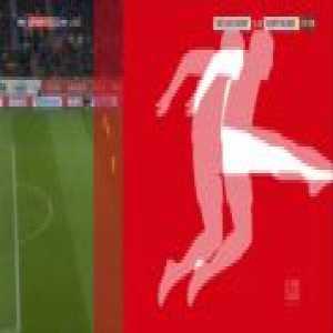 Takashi Usami (Düsseldorf) miss on open goal vs Dortmund 38'
