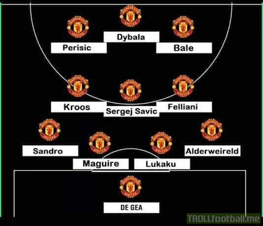 What Manchester United are gonna need to defeat PSG!! They'll have to make it in the winter break.