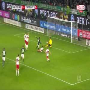 Wolfsburg [2]:0 Stuttgart - Wout Weghorst 44'