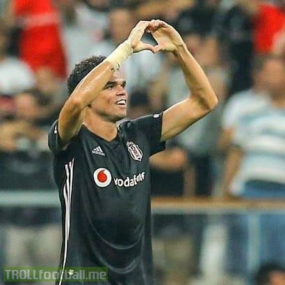 Pepe has agreed to cancel his own contract at Besiktas due to the club's financial problems.  Before leaving, he reportedly helped the club out by paying some of the staff's wages.   Touch of class.  🇵🇹👏