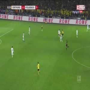 Borussia Dortmund [2]:1 Borussia Mönchengladbach - Marco Reus 54'
