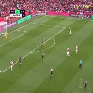 P. Aubameyang goal (Arsenal [2]-0 Burnley) 47'