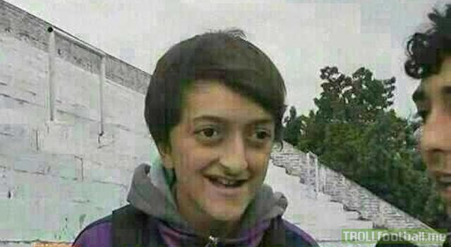 A young Mesut Ozil learns hes just been accepted to Schalkes youth academy (2005 colorized)