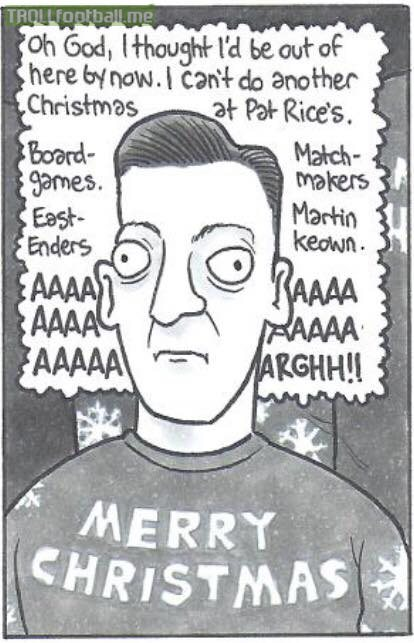 Ozil spending another Christmas at Arsenal