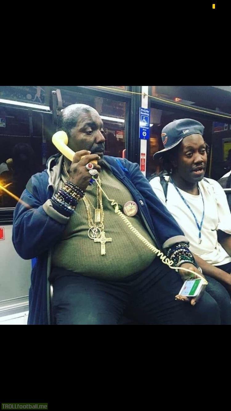 Rare photo of lukaku and rashford on the tube