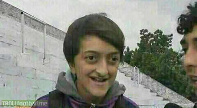 Rare photo of Mesut Ozil at school ( circa late 90s )