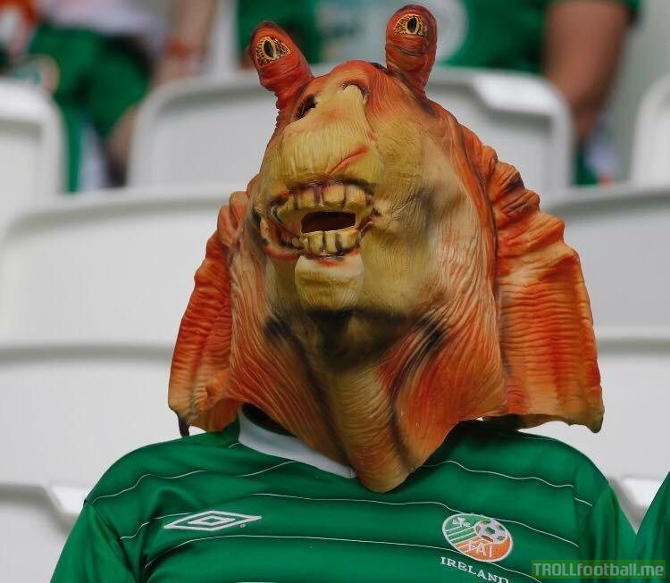 Ronaldinho is Irish?