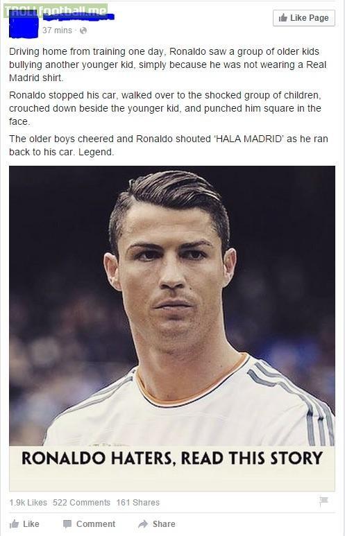 Ronaldo-Messi debate finally over! CR7 takes the win