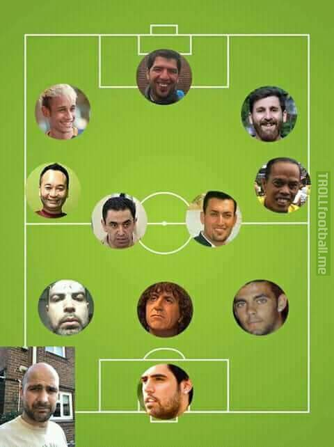 UEFALONA ALL TIME BEST XI