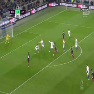 Brighton & Hove Albion 0:[1] Arsenal - Pierre-Emerick Aubameyang 7'