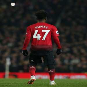 Manchester United finish their Boxing Day fixture with this front four: Gomes, Pogba, Lingard, Rashford. All four are products of the club's academy.