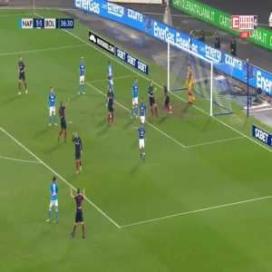 Napoli 1:[1] Bologna - Federico Santander 37'
