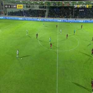 Sporting CP [2]:0 Feirense - Bruno Fernandes 22'