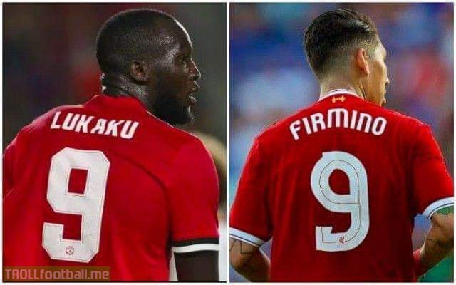 Firmino has scored more no look goals than a looking Lukaku 😂😂😂😂😂😂😂🔥