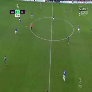 Everton 0:[1] Leicester City - Jamie Vardy 58'