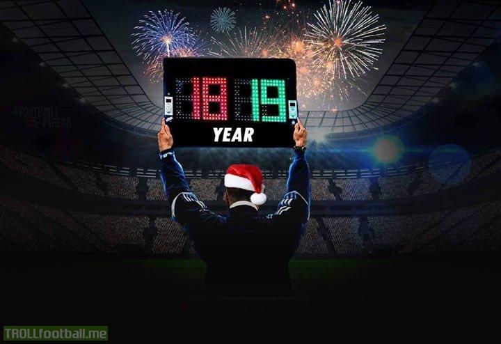 Happy New Year 2019 Troll Football
