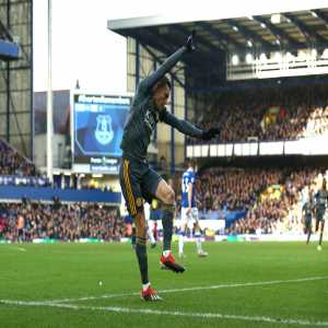 """Jamie Vardy on his acrobatic celebration: """"I've had it in the locker for a while, just waiting for a special occasion to bring it out; what better than New Year's Day? New Year, new me."""""""