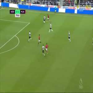 M. Rashford goal (Newcastle 0-[2] Man Utd) 79'