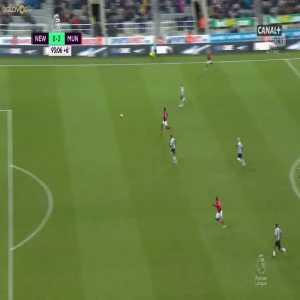 Paul Pogba miss vs. Newcastle United
