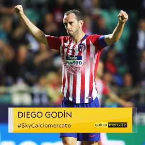 An agreement between Diego Godín and Inter has been reached – will join the italian club as a free transfer in June 2019.