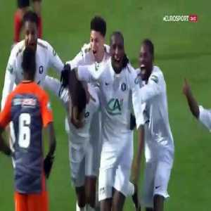 Sannois St-Gratien 1 vs 0 Montpellier - Full Highlights & Goals