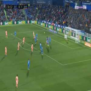 Getafe 0-2 Barcelona - Luis Suarez 39'