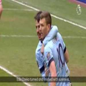 Edin towards Manchester 🇧🇦  OnThisDay in 2011, Dzeko signed for Man City, and gave fans some memorable moments...