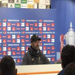 Klopp: Wind didn't help, players struggled to control the ball.