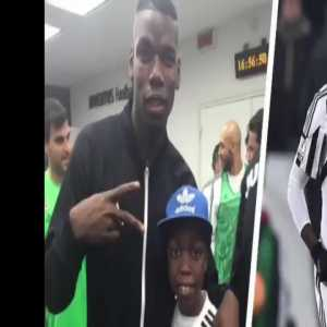 Paul Pogba shows support to a Juventus U15 player who beat cancer on Twitter. 💖