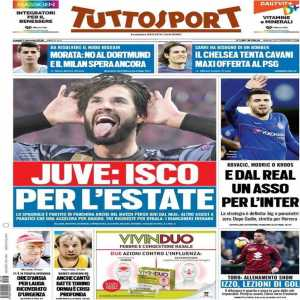 Tuttosport : Juventus are targeting a move for Isco in June with Football Chief Officer Fabio Paratici now accelerating towards securing the player. Meanwhile, Juventus have held back amid three requests for Paulo Dybala.