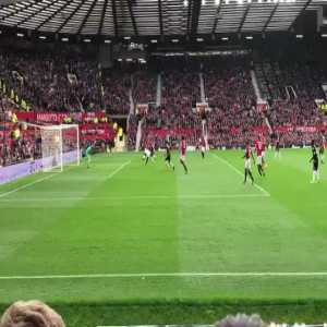 Mata again with a brilliant first touch