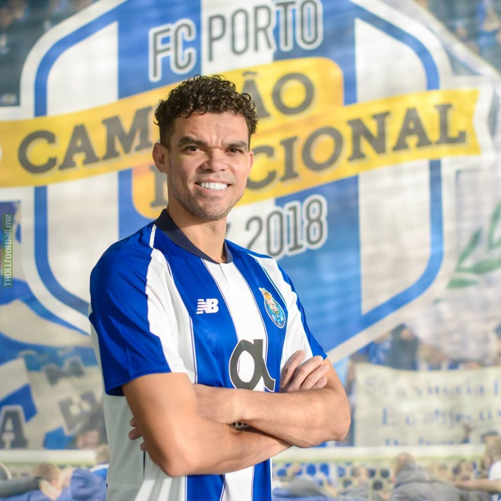 Pepe has signed for FC Porto
