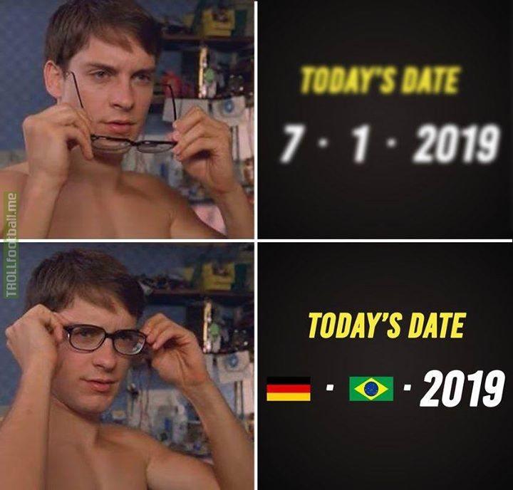 Tag a Brazil fan who hates this meme 🇩🇪 🇧🇷 😂