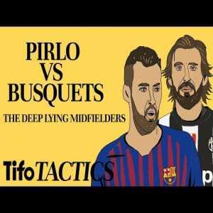 Andrea Pirlo v Sergio Busquets: The Deep Lying Midfielder - YouTube