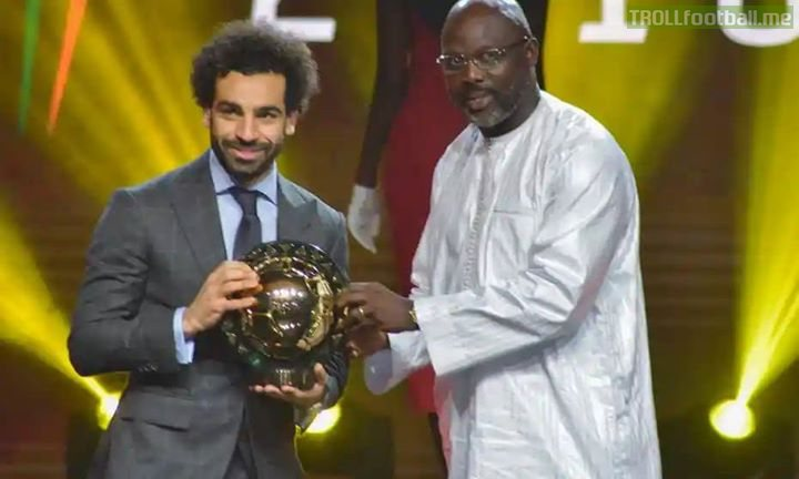 Mohamed Salah has been named CAF African Player of the Year for the second successive year. 👏👏  Congratulations, Mo Salah ! 👑 BestOfAfrica