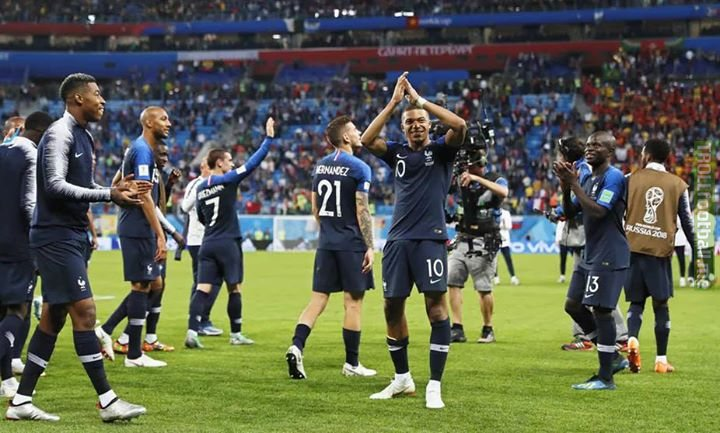 """🔲""""Racism and discrimination of any kind have no place in football."""" - Sepp Blatter 🔳Equality won France a World Cup!!! 🔲Can your country follow suit in putting away discrimination and reach the grandest stage?  It's why you are yet to win it!! Learn from 'em people!!!"""