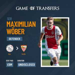 Munir and Wober go to Sevilla