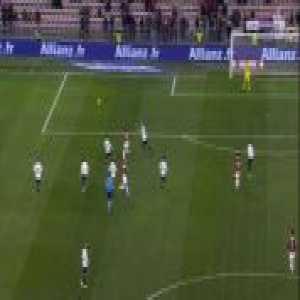 Nice 1-0 Bordeaux - Allan Saint-Maximin penalty 16'