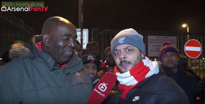 West Ham United 1-0 Arsenal..  Arsenal fans be like..