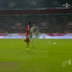 Alphonso Davies uncalled penalty